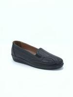 Selsan Pabuş Tam Rahat Yanı Lastikli Ayakkabı SİYAH