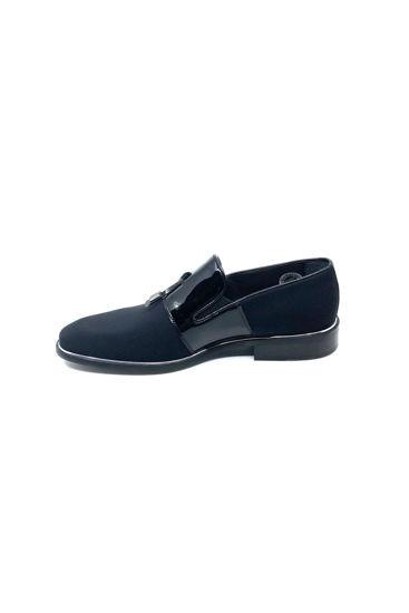 fosco-ruganli-klasik-corcik-ayakkabi-SİYAH RUGAN STREÇ-314 1130-0007586_0