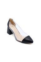 Selsan Cyl Yanı Şeffaf Klasik Kadın Ayakkabı SİYAH