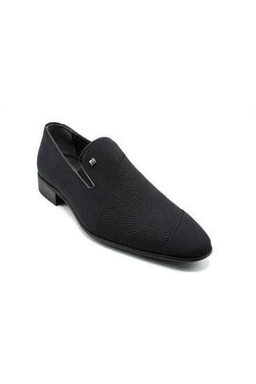 Fosco Streç Erkek Ayakkabı SİYAH STREÇ resmi