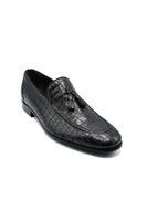 Fosco Klasik Corcik Erkek Ayakkabı SİYAH KOROKO