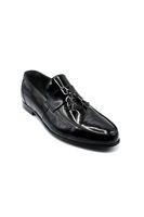 Fosco Klasik Corcik Erkek Ayakkabı SİYAH RUGAN