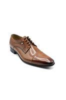 Fosco Erkek Klasik Günlük Deri Bağcıklı Ayakkabı TABA