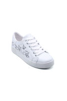 Endless Düz Bağlı Sneaker Ayakkabı BEYAZ KEDİ