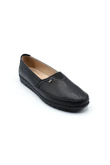 Selsan Pbş Deri Rahat Büyük Numara Ayakkabı SİYAH DERİ resmi
