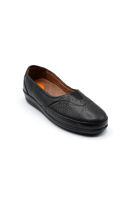 Selsan Pbş Deri Rahat Büyük Numara Ayakkabı SİYAH