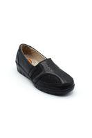 Selsan Pabuş Yıldızlı Rahat Kadın Ayakkabı SİYAH