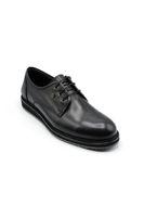 Selsan Lifond Bağcıklı Deri  Ayakkabı SİYAH