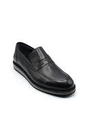 Selsan Lifond Deri Saraçlı Klasik Ayakkabı SİYAH