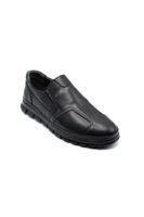 Selsan Blo Bağsız Klasik Erkek  Ayakkabı SİYAH