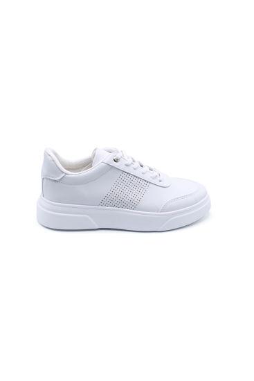 selsan-cont-yani-lazerli-bagli-sneakers-spor-BEYAZ-125_958-0010017_0