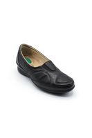 Selsan Pbş Pimli Lastikli Rahat Ayakkabı SİYAH