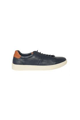 Freefoot Deri Casual Erkek Ayakkabı LACİVERT BEYAZ resmi