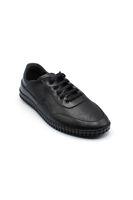 Selsan Msc Bağlı Lazer Baskılı Saraçlı Ayakkabı SİYAH