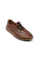 Selsan Msc Bağlı Lazer Baskılı Saraçlı Ayakkabı TABA