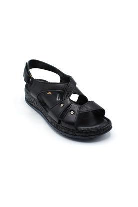 selsan-ayakkabi-kemeri-seritli-deri-sandalet-SİYAH-526_400-0011209_0