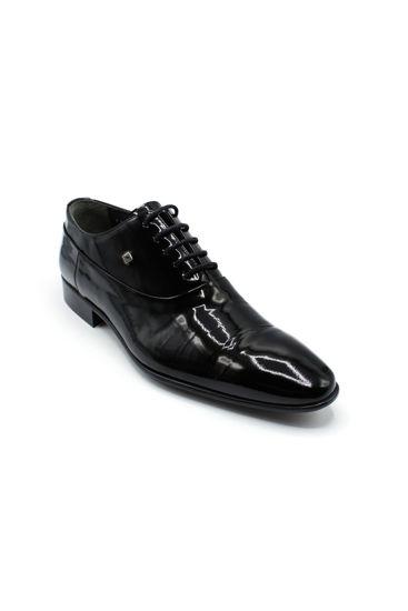 Fosco Enjeksiyon Bağlı Klasik Ayakkabı SİYAH RUGAN resmi