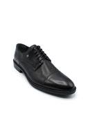 Fosco Bağlı Klasik Lazerli Erkek Ayakkabı SİYAH
