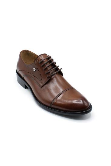 Fosco Bağlı Klasik Erkek Ayakkabı TABA resmi