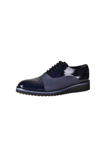 Fosco Bağlı Klasik Erkek Ayakkabı LACİ RUGAN MAT resmi