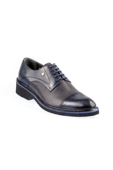 Fosco Bağlı Klasik Erkek Ayakkabı LACİVERT resmi