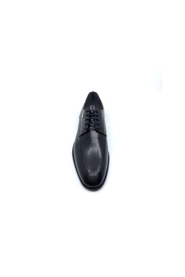 Fosco Bağlı Klasik Erkek Ayakkabı SİYAH resmi