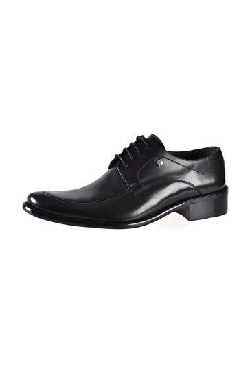Fosco Enjeksiyon Bağlı Klasik Erkek Ayakkabı SİYAH resmi
