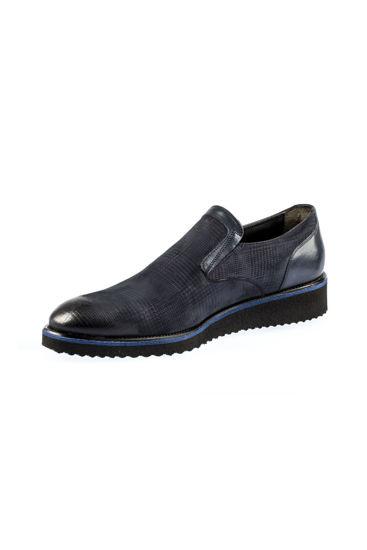 Fosco Mokasen Klasik Ayakkabı LACİ NUBUK resmi