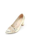 Selsan Almera Burnu Taşlı Klasik Kadın Ayakkabı DORE