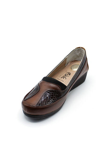 Edik Petekli Rahat Ayakkabı TABA DERİ resmi