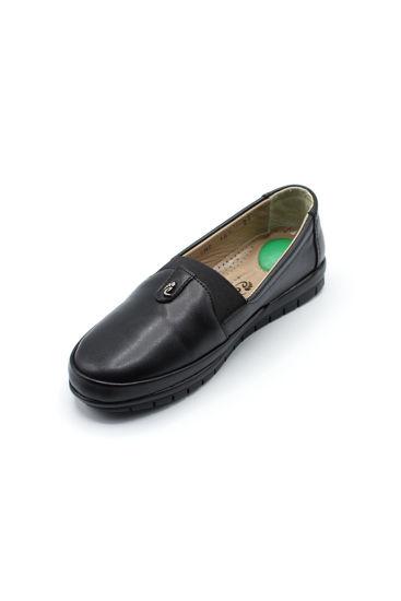 Selsan Edik Babet Rahat Ayakkabı SİYAH resmi