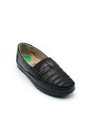 Selsan Edik Dalgalı Babet Rahat Ayakkabı SİYAH
