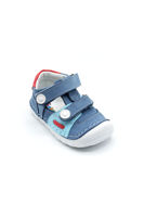 Selsan Şkr Cırtlı Comfort İlkadım Bebe Ayakkabı MAVİ