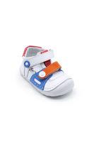 Selsan Şkr Cırtlı Comfort İlkadım Bebe Ayakkabı BEYAZ TURUNCU