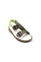 Selsan Tokalı Cırtlı Sandalet HAKİ