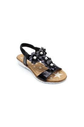 selsan-jena-papatya-lastikli-kiz-cocuk-sandalet-SİYAH-57_008-0013045_0