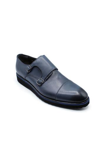 Fosco Tokalı Klasik Ayakkabı MAVİ resmi
