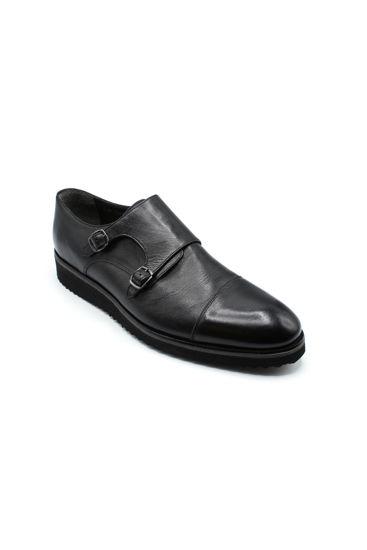 Fosco Tokalı Klasik Ayakkabı SİYAH MAT resmi