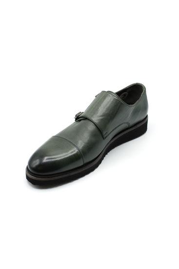 Fosco Tokalı Klasik Ayakkabı YEŞİL resmi