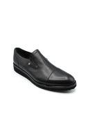 Fosco Klasik Erkek Ayakkabı Bağsız SİYAH MAT