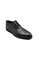Fosco Klasik Bağlı Erkek Ayakkabı SİYAH MAT