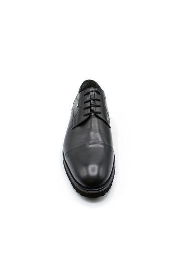 Fosco Klasik Bağlı Erkek Ayakkabı SİYAH MAT resmi