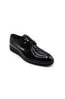Fosco Bağlı Eva Klasik Erkek Ayakkabı SİYAH RUGAN
