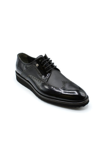 Fosco Bağlı Oxford Klasik Erkek Ayakkabı SİYAH resmi