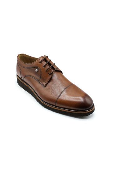 Fosco Klasik Bağlı Erkek Ayakkabı TABA resmi
