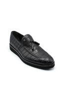 Fosko Püsküllü Corcik Klasik Erkek Ayakkabı SİYAH