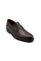 Selsan Lifond Deri Saraçlı Klasik Ayakkabı KAHVE